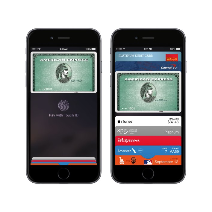 The new Apple Pay in the Passbook wallet