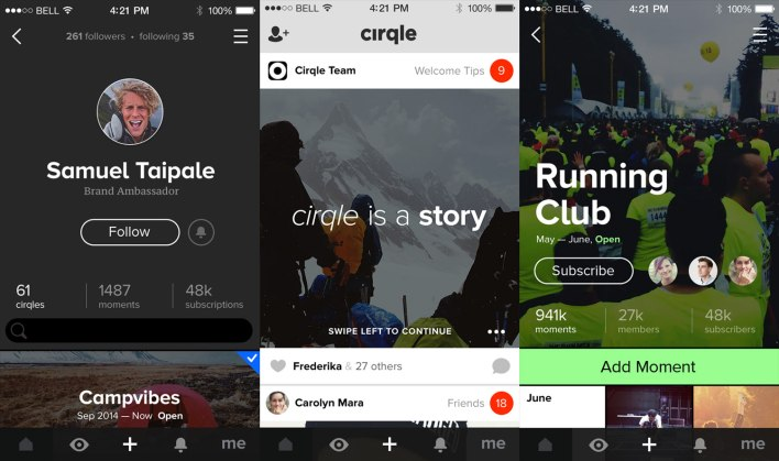 Cirqle-Screenshots