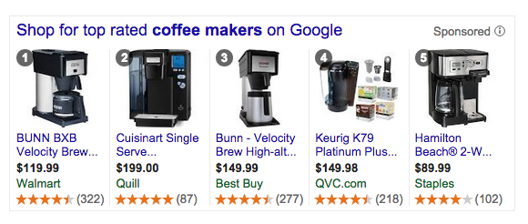 coffee maker screenshot