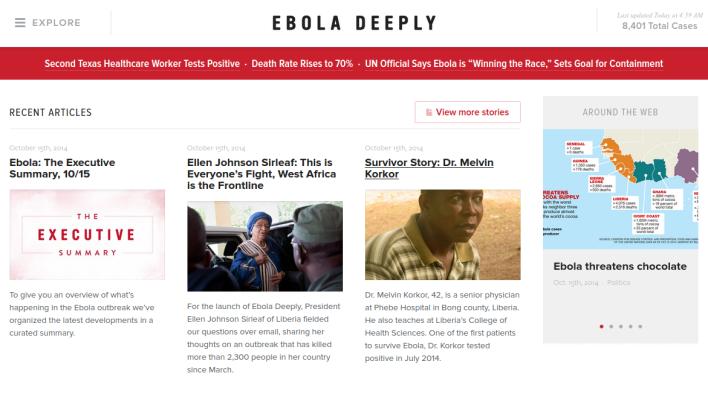 Ebola Deeply