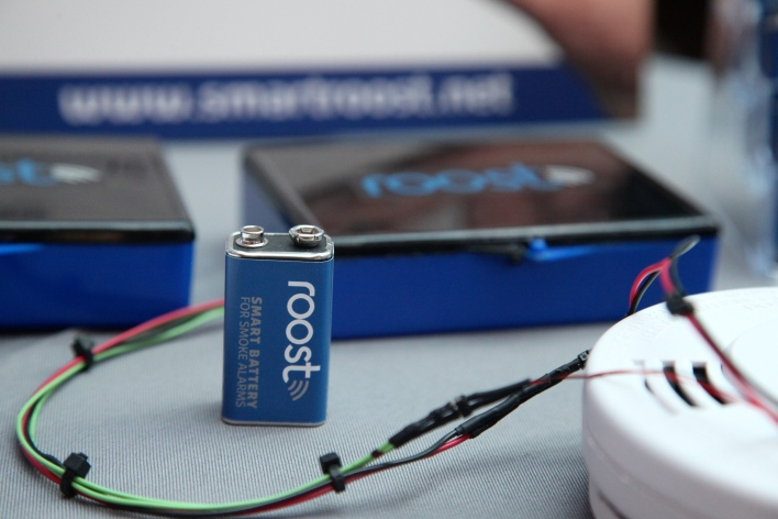 Roost's low-power Wi-Fi helps keep this battery connected for five years.