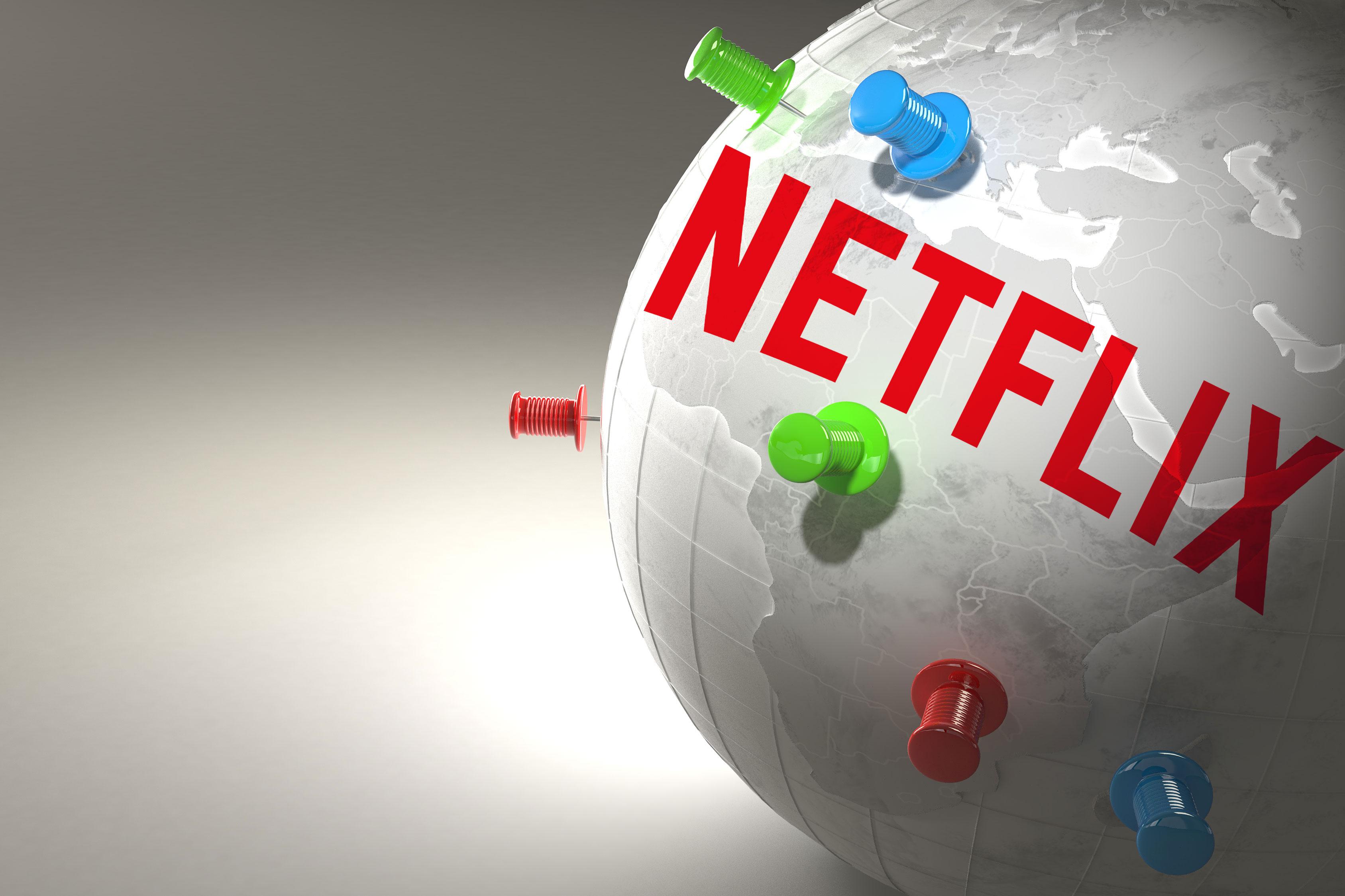 netflix globe