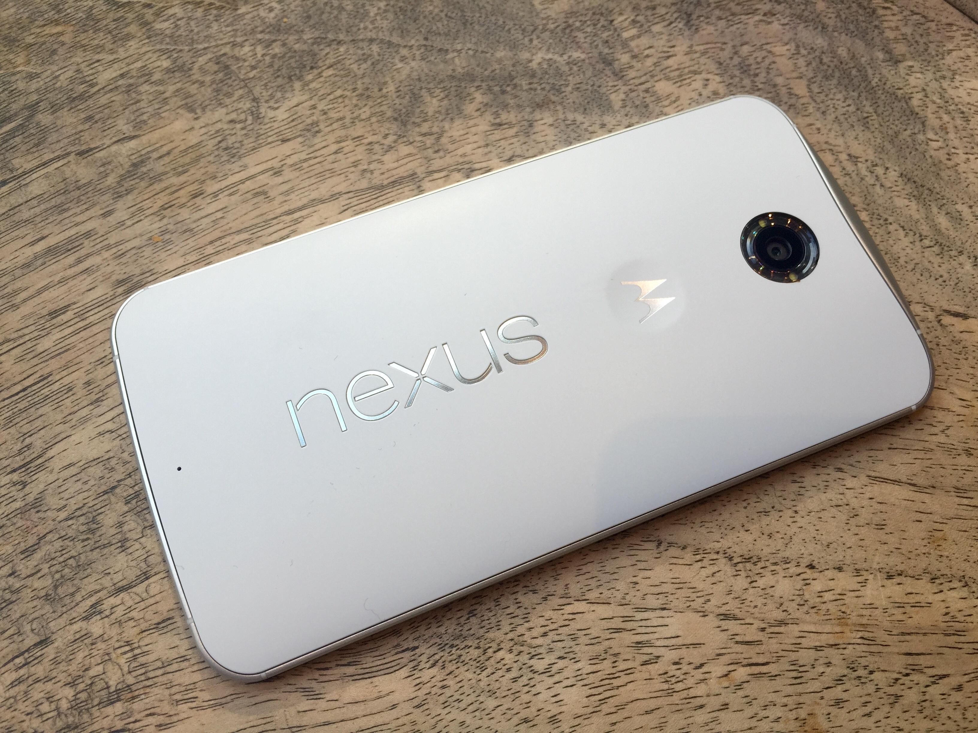 Nexus 6 landscape