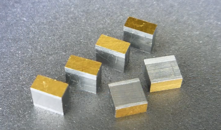 The thermoelectric material that converts heat to electricity in Alphabet Energy's generators.