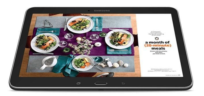 Samsung Nook tablet