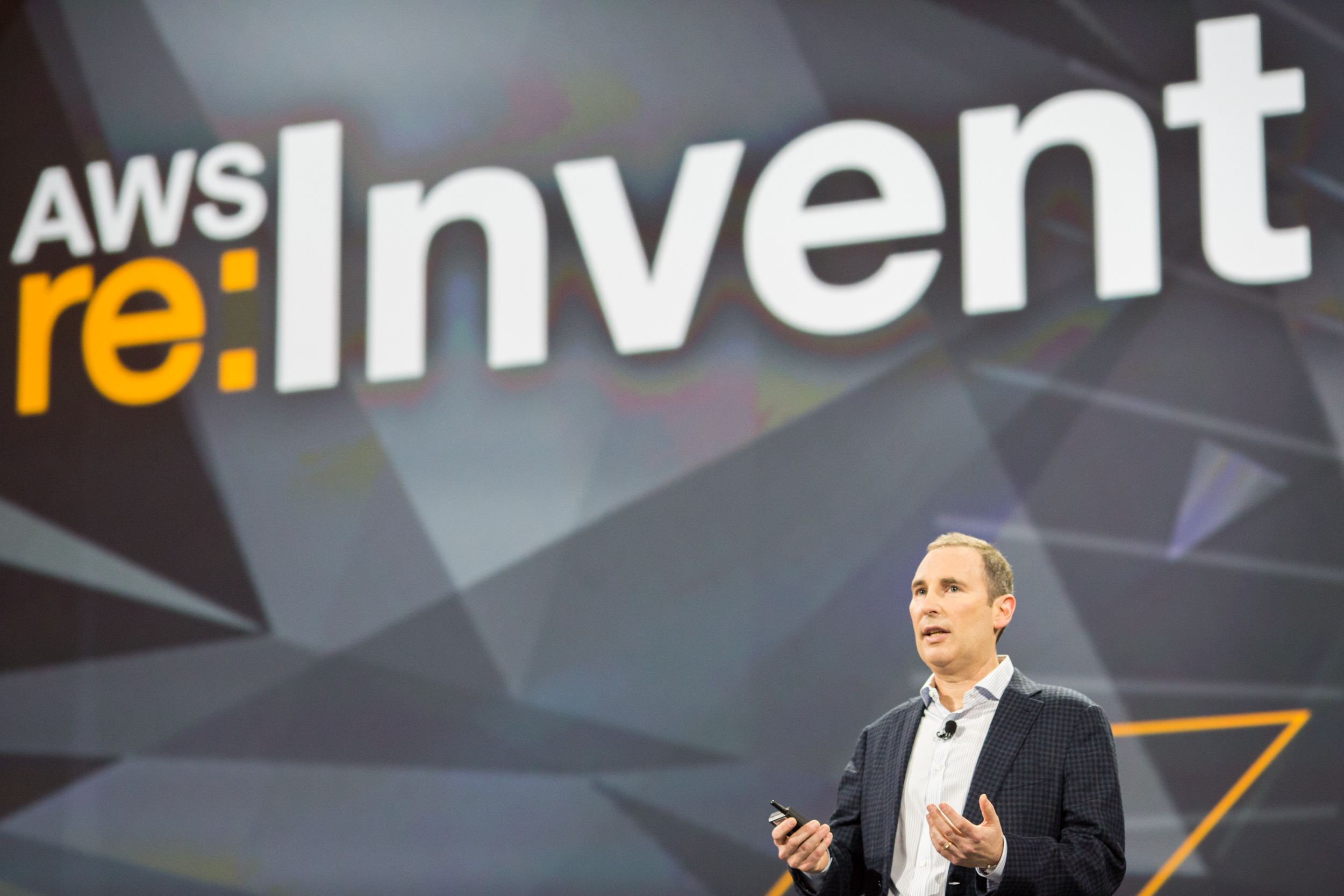 Andy Jassy, SPV AWS, speaking at AWS Re:Invent 2014