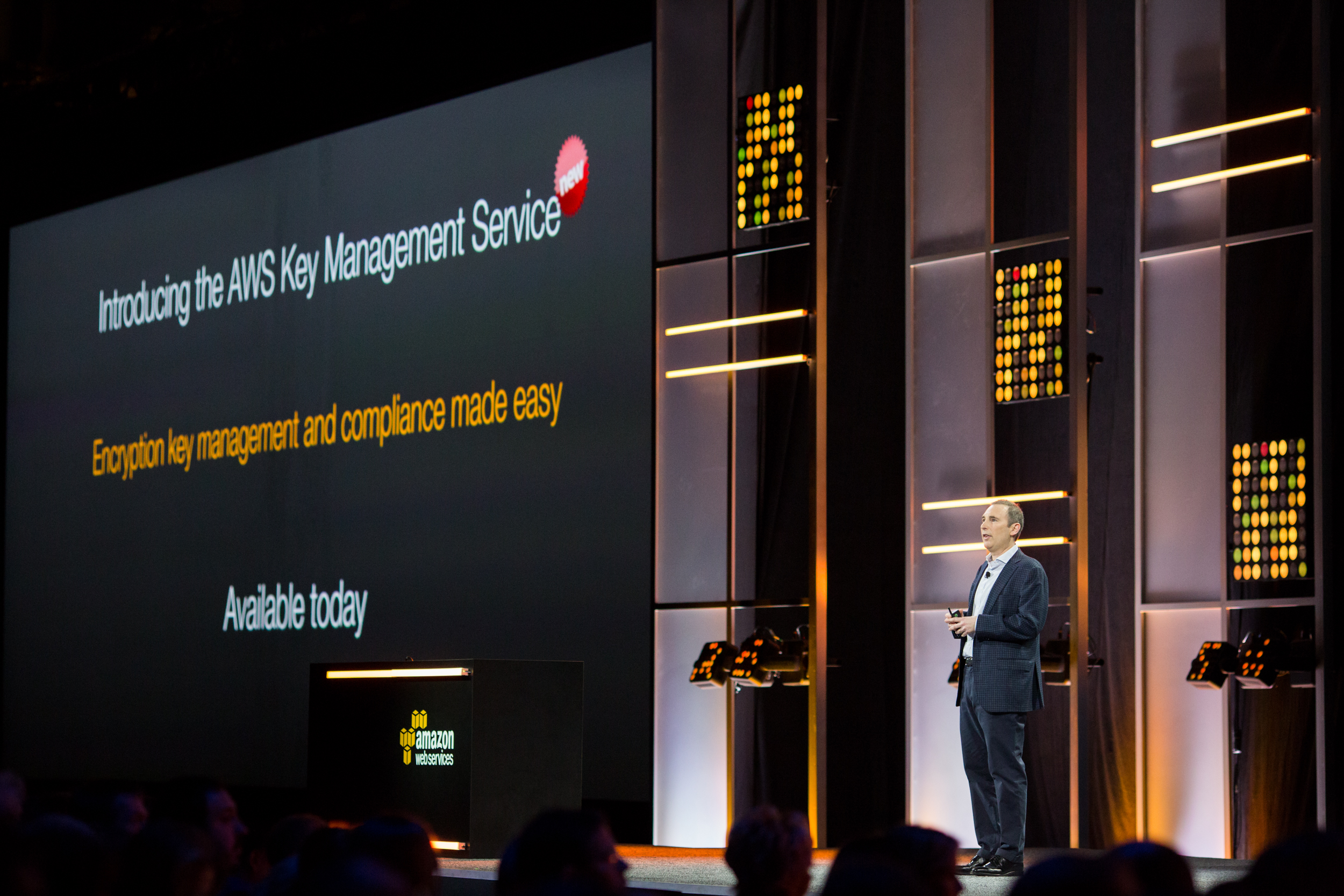 Amazon SVP Andy Jassy speaking at AWS Re:Invent 2014
