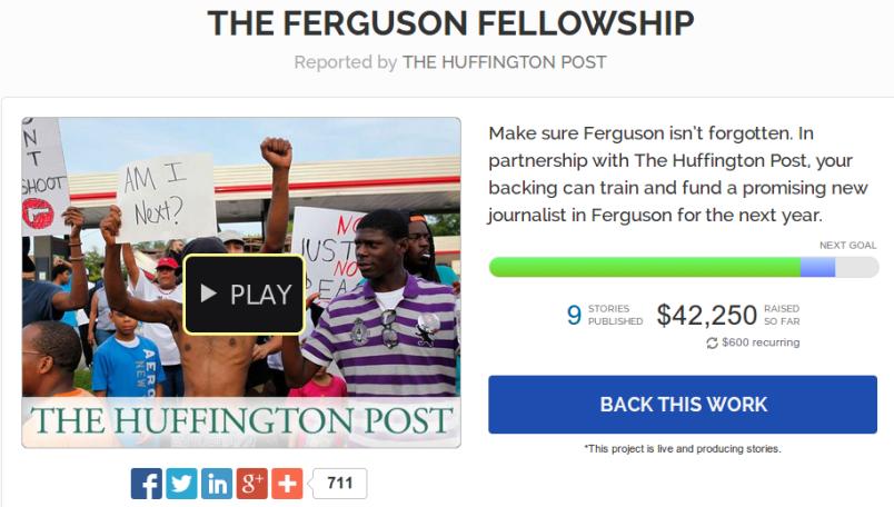 Ferguson Huffpo campaign