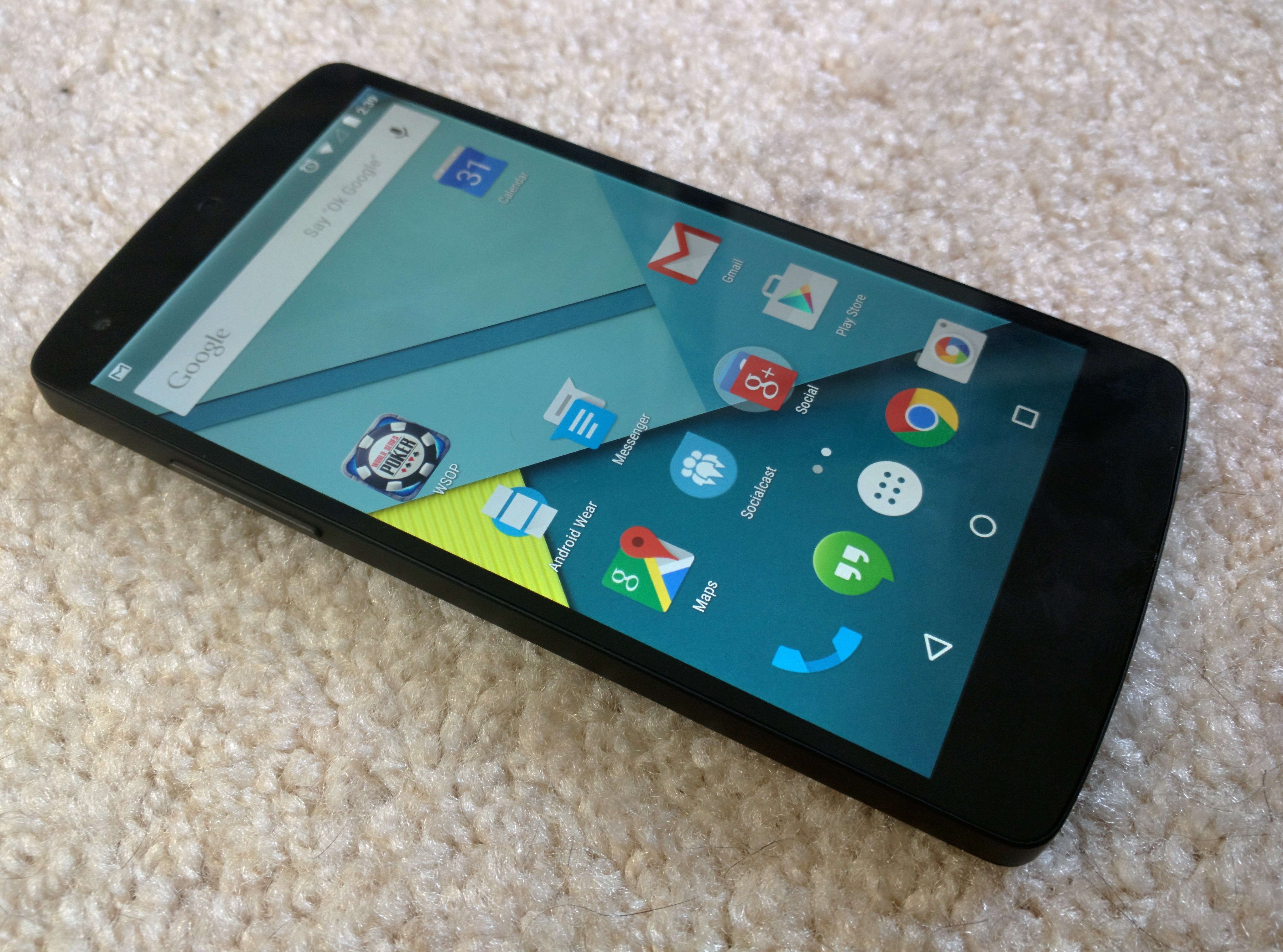Nexus 5 with Android 5