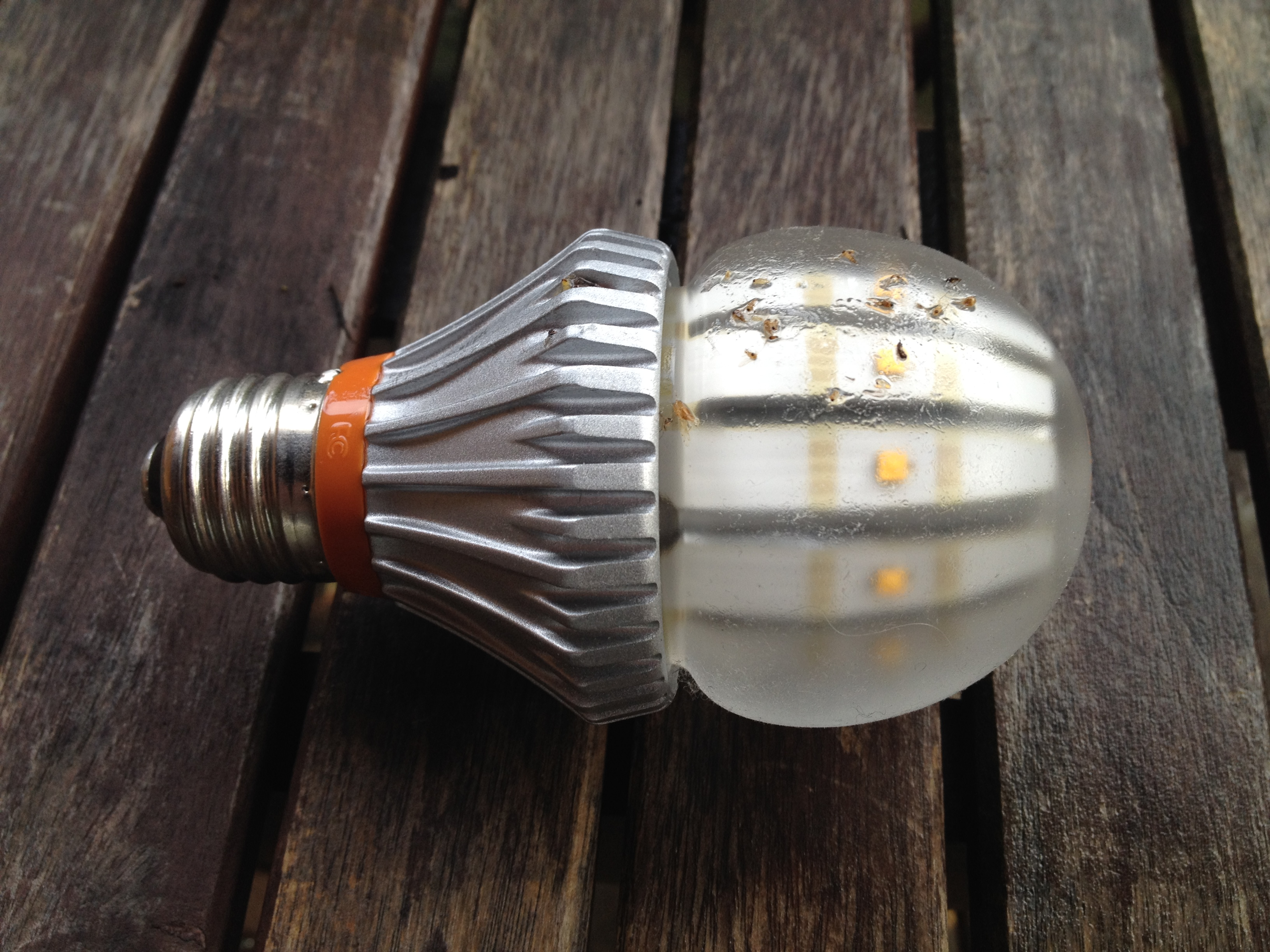 The SWITCH60 LED light bulb from Switch Lighting.