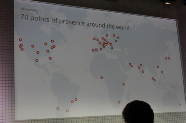 Google showed off its many internet access points during its conference