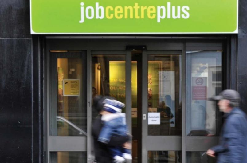 A U.K. Jobcentre Plus office