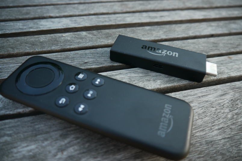 Fire TV Stick with remote