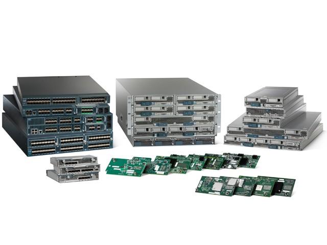 The Cisco family of blade servers. Source: CIsco