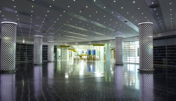 Retrofitted LED lighting in Florida