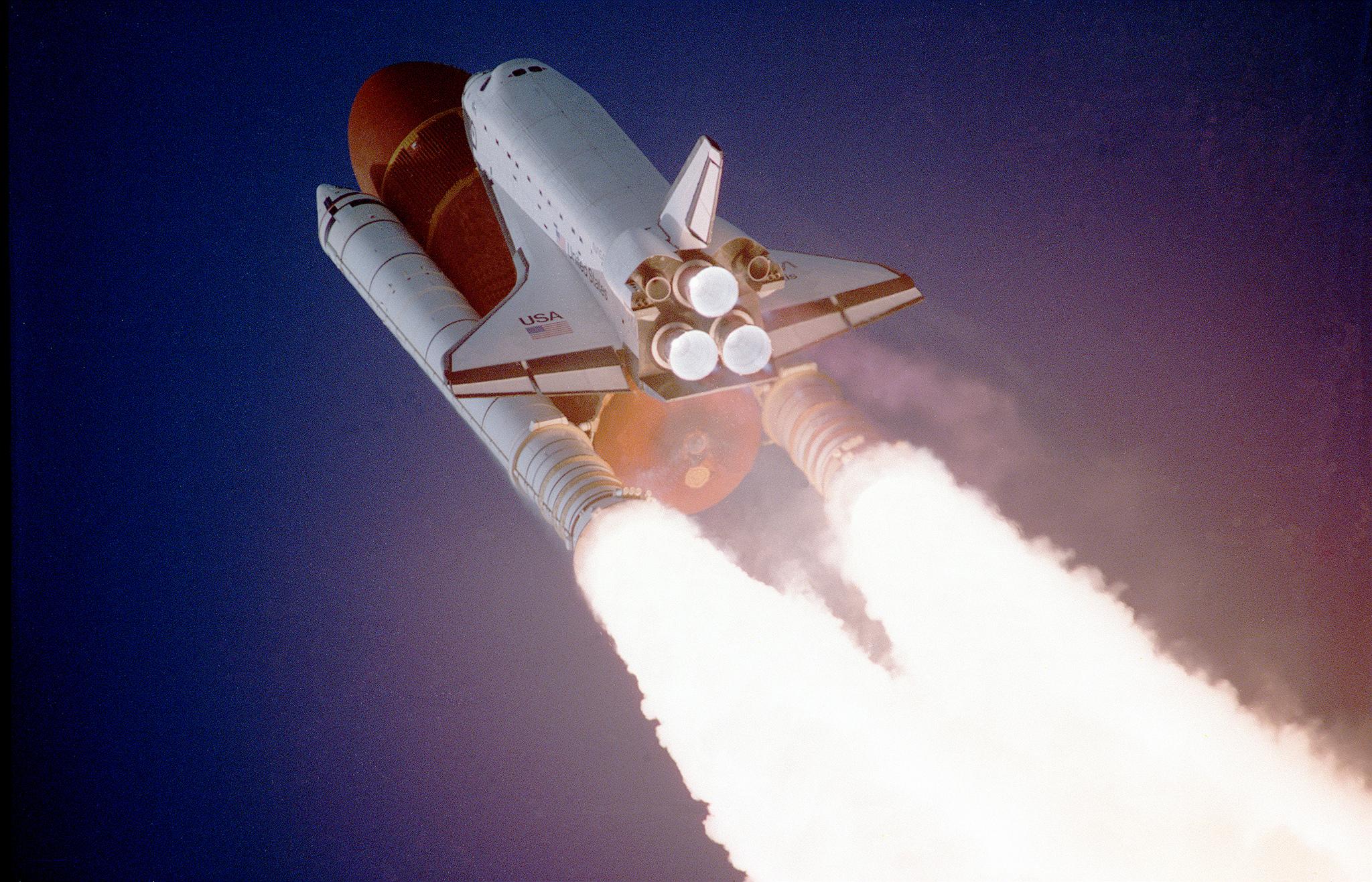 NASA STS-27, Orbiter Atlantis, Liftoff