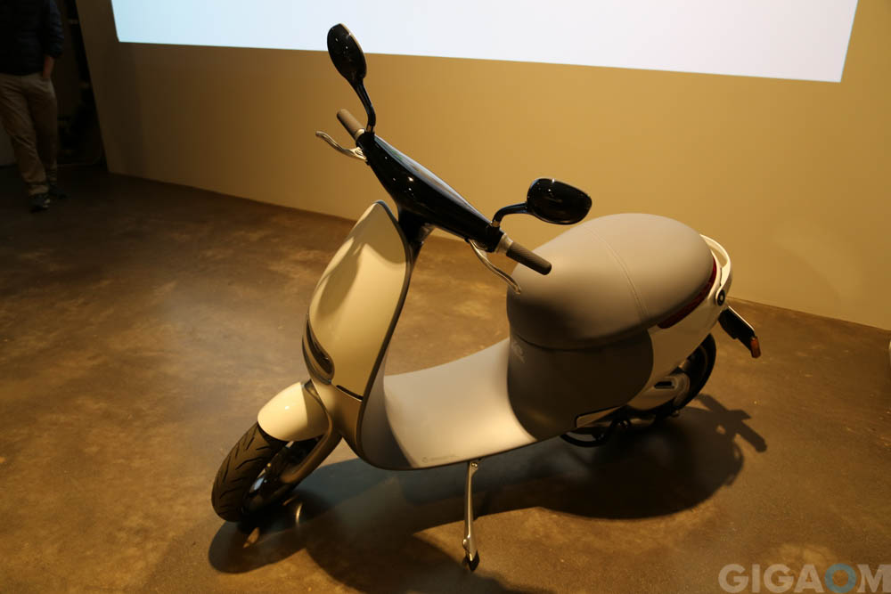 Gogoro's electric scooter.