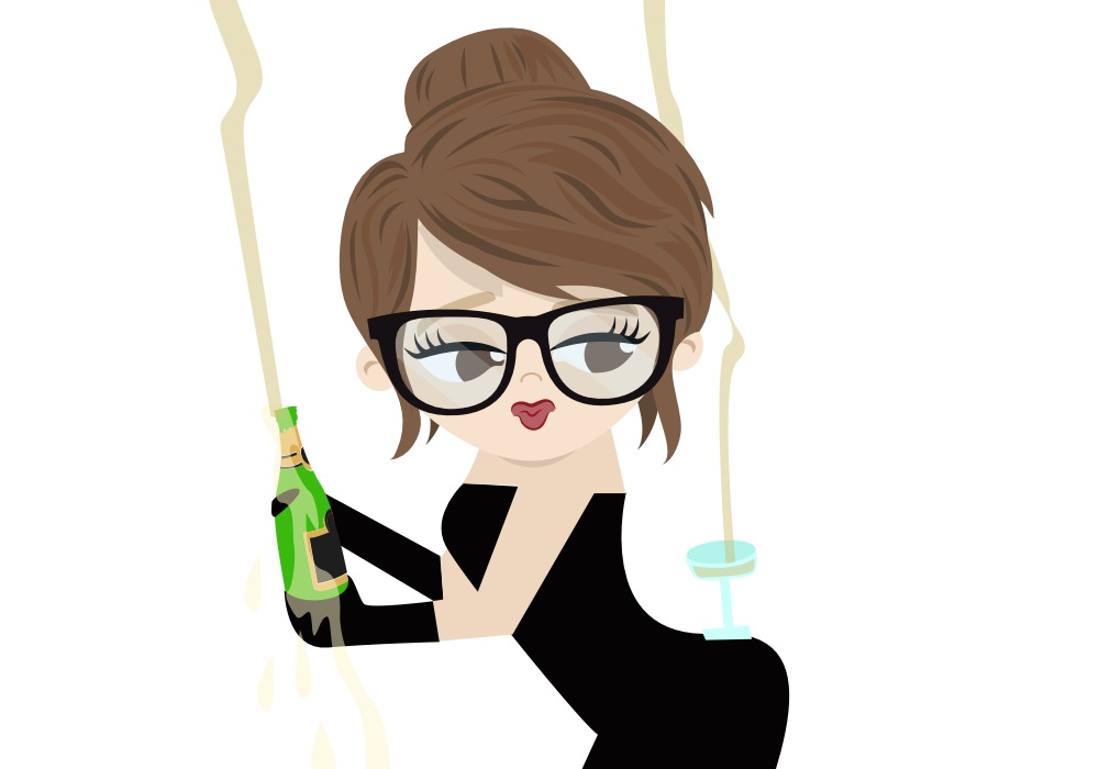 The #kimkardashian illustration on the Bebo chatting app