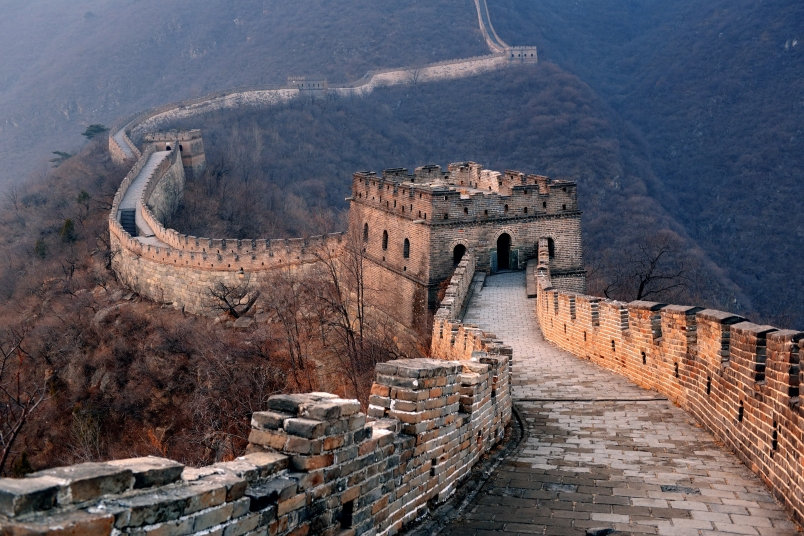 Asia great wall of china