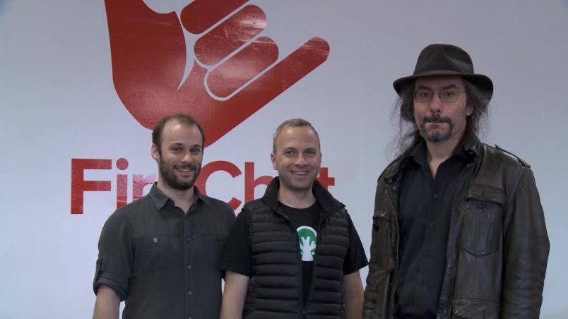Open Garden founders Hazel, Benoliel and Shalunov