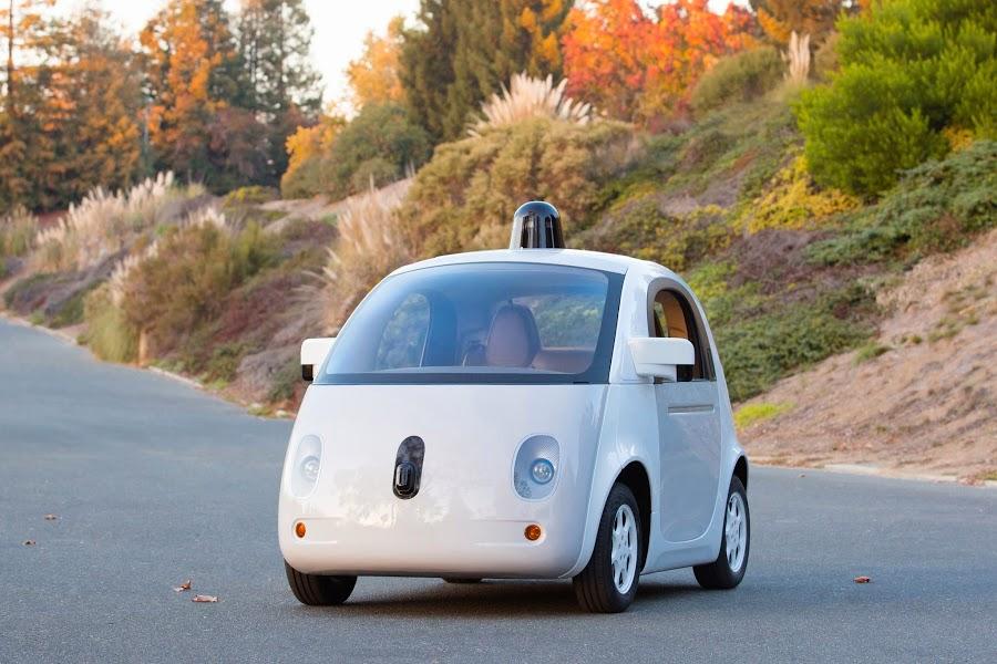 Google vehicle prototype