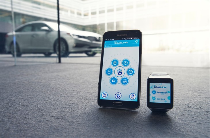 The Blue Link app soon to be available on Android Wear devices