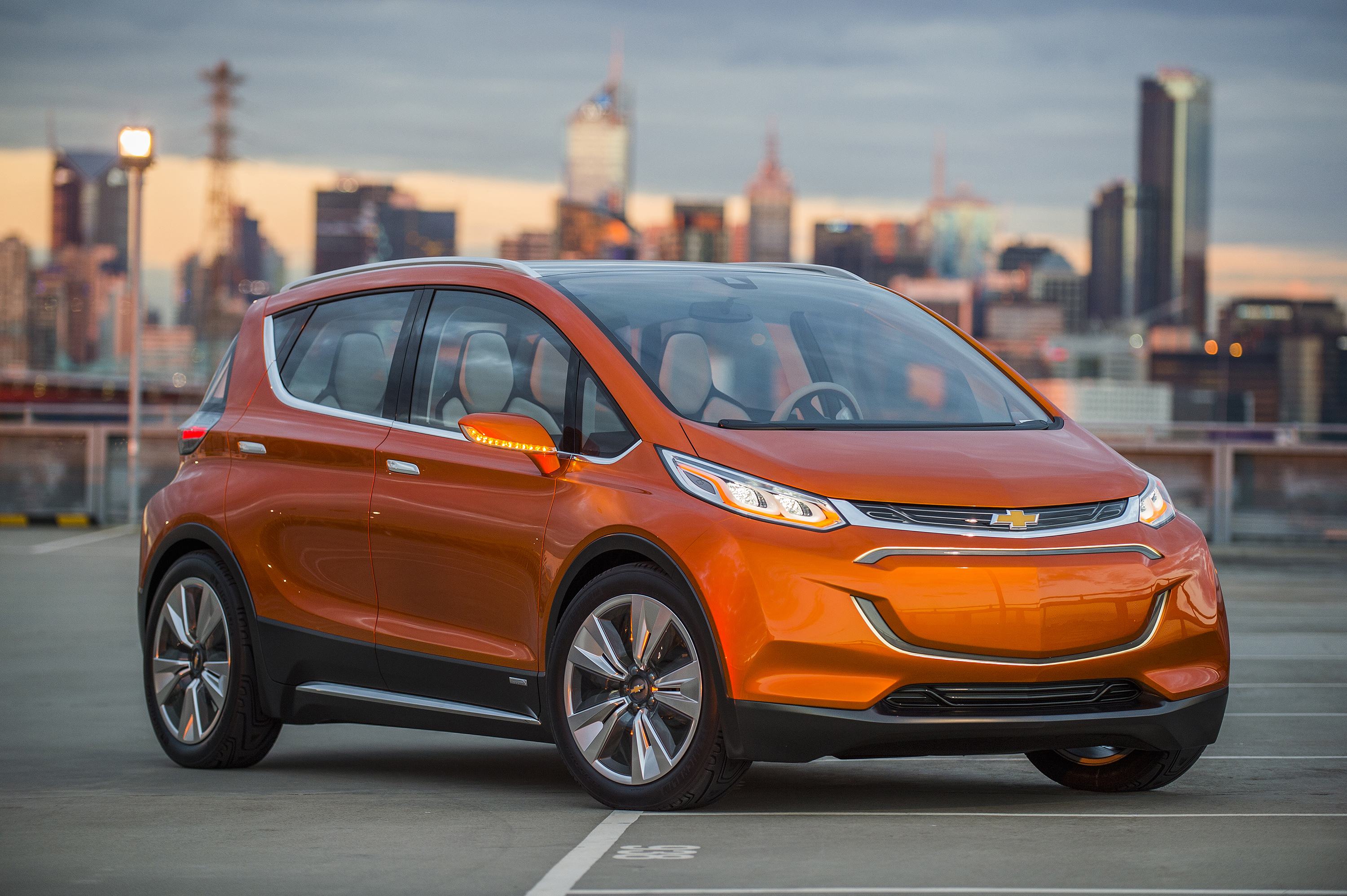 GM's Chevy Bolt electric concept car