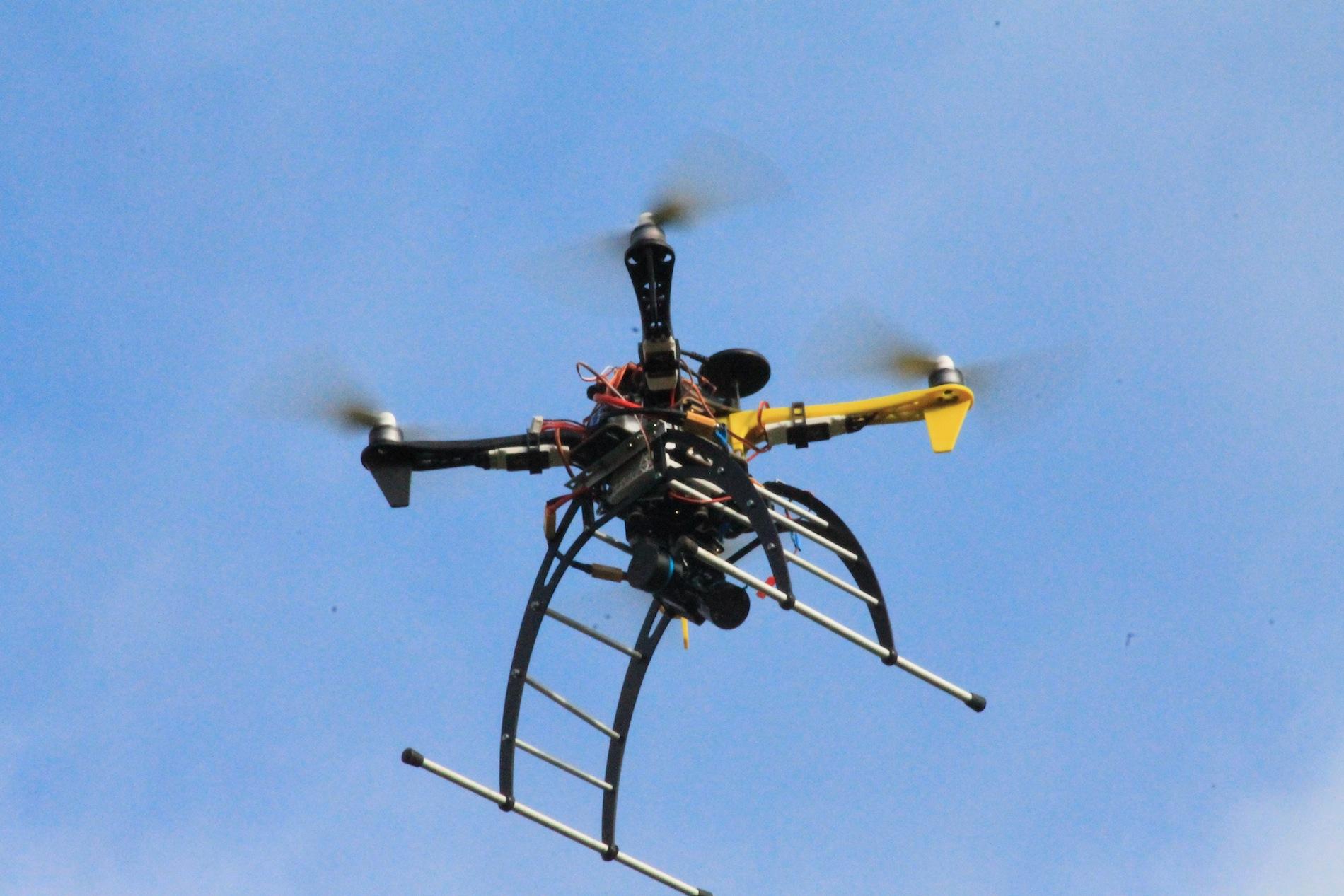 Erle Robotics' Erle-Copter educational open drone