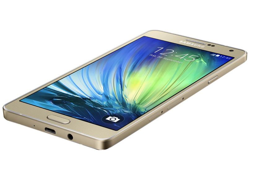 Galaxy A7 gold