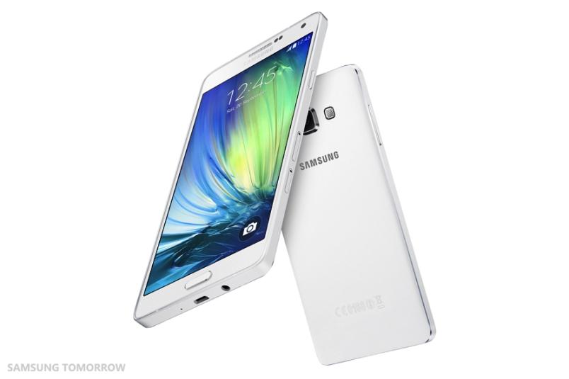 Galaxy A7 white