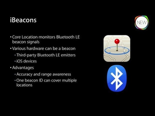 ibeacons slide