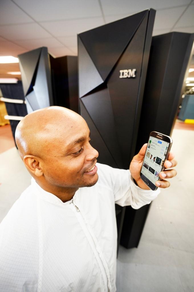 IBM mainframe and mobile