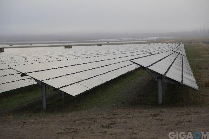 The Topaz solar farm.