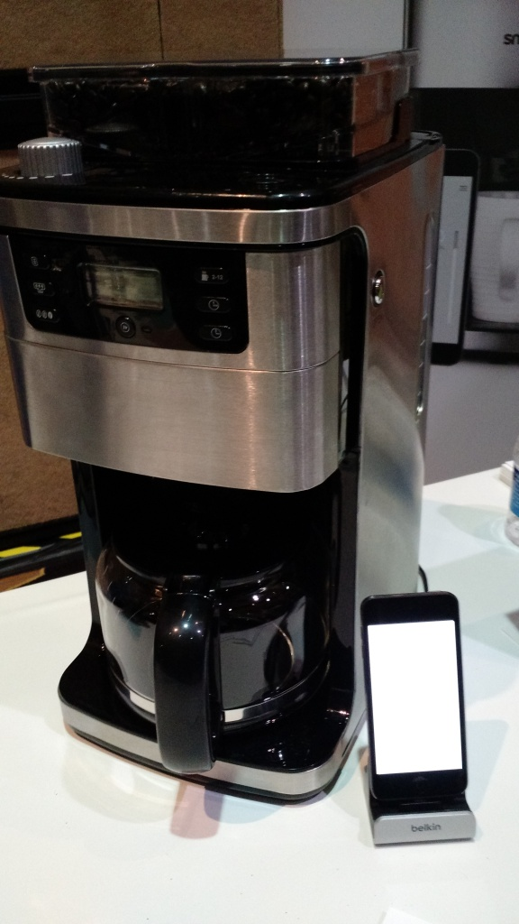 The Smarter connected coffee pot.