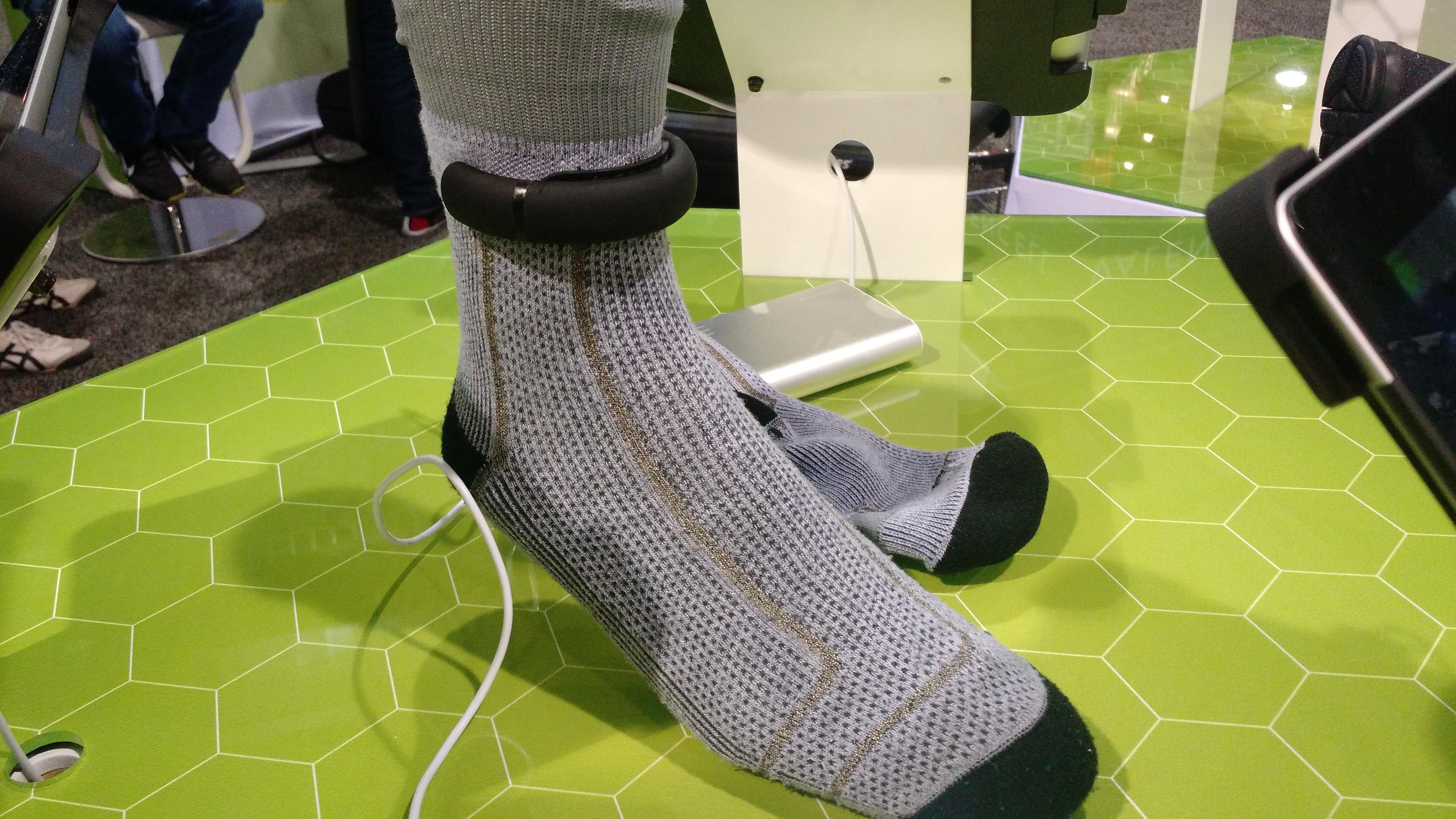 Sensoria socks CES 2015