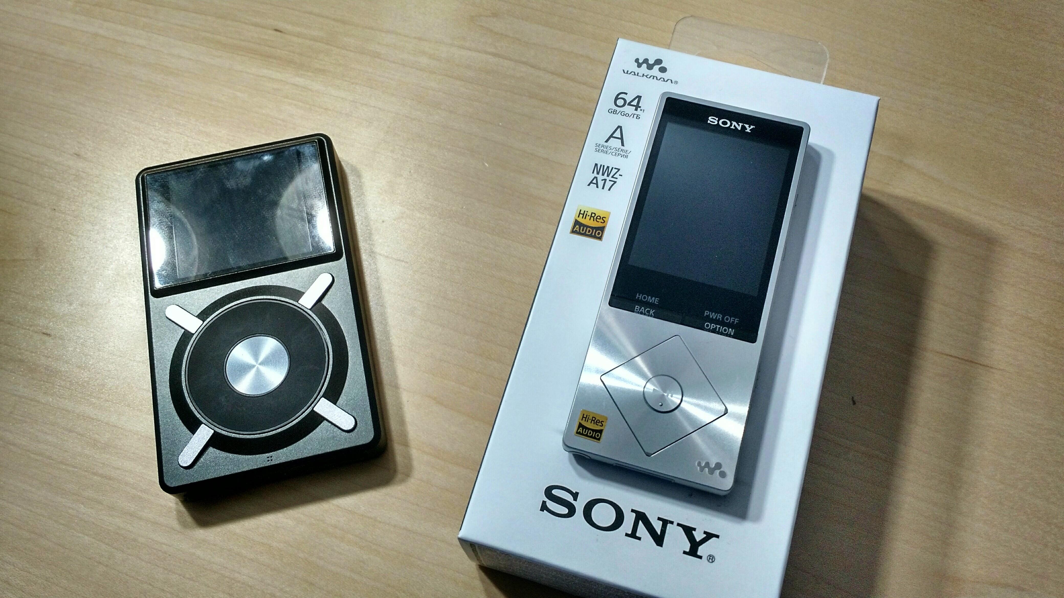 Fiio X5 and Sony Walkman A17
