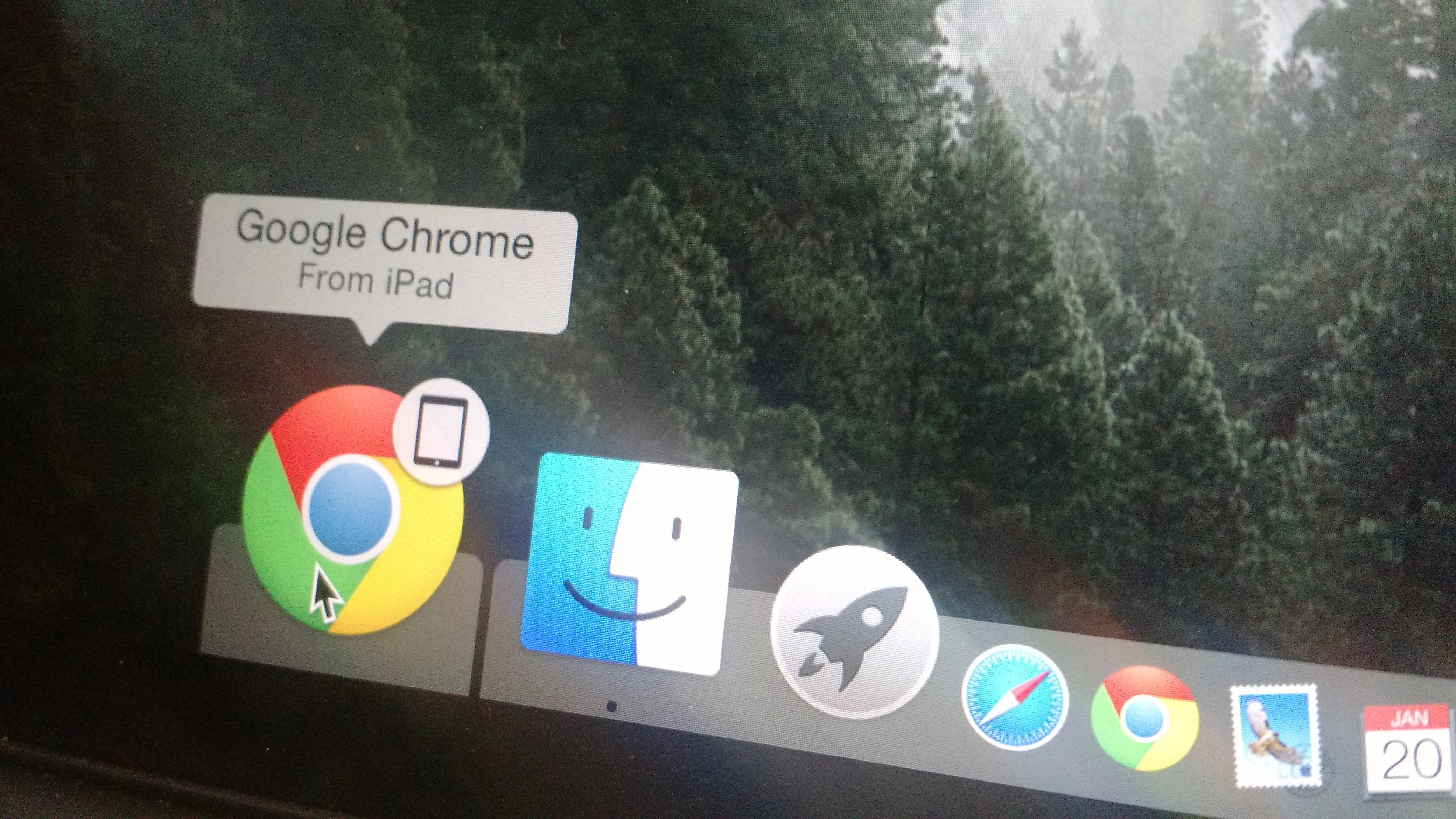 Chrome for iOS Handoff
