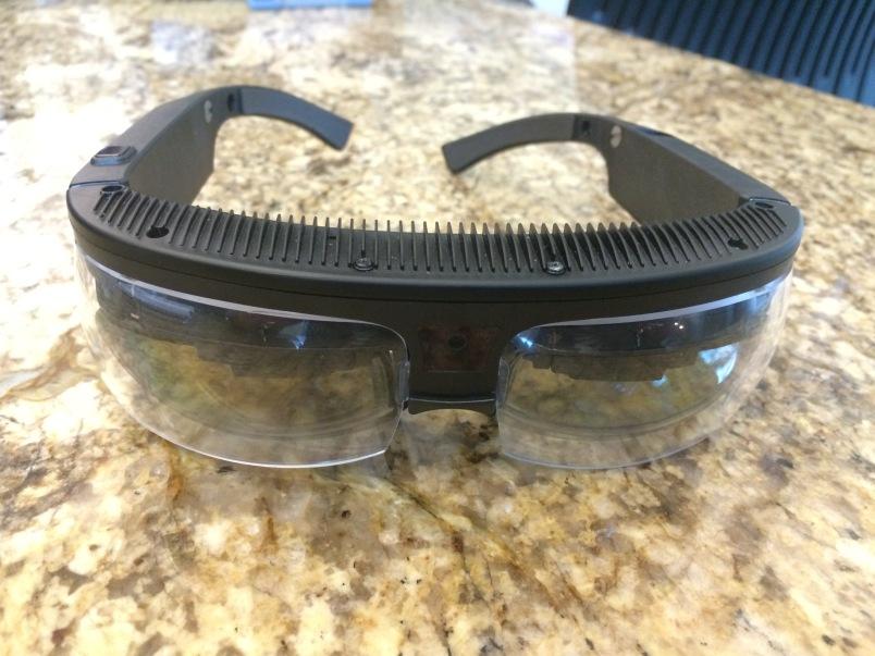 An earlier version of ODG's smart glasses.