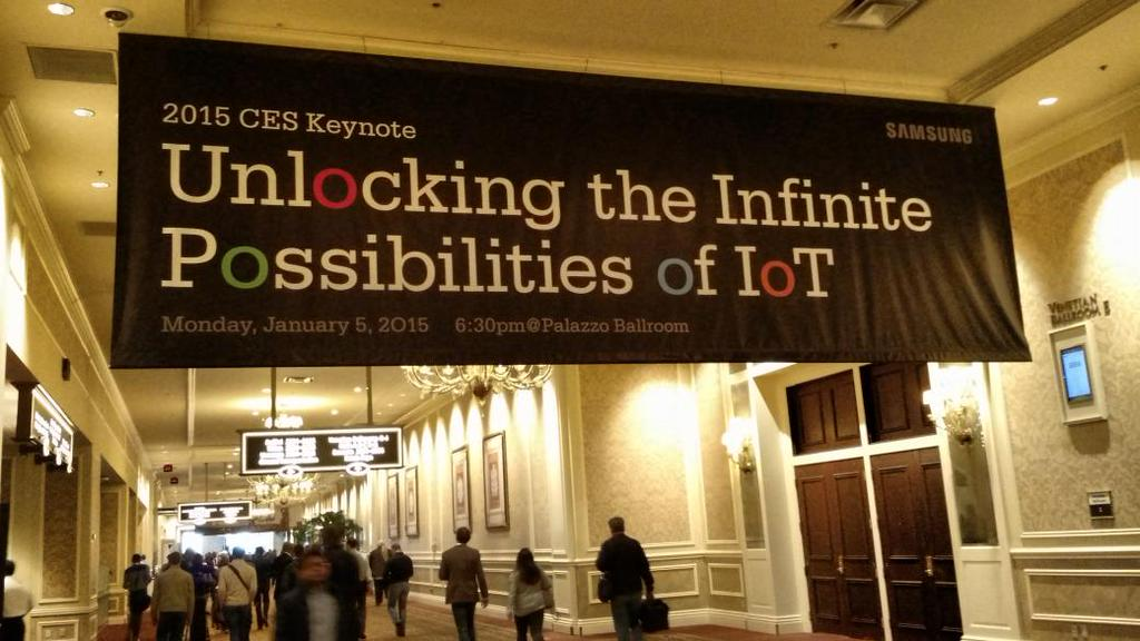Samsung keynote CES 2015