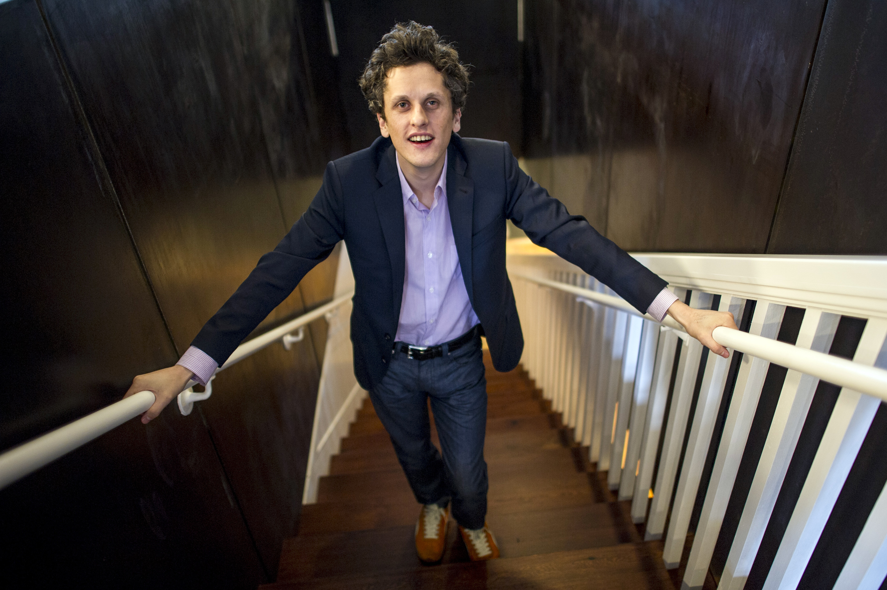 Aaron Levie, co-founder and chief executive officer of Box Inc.