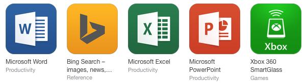 Microsoft Apps 2014