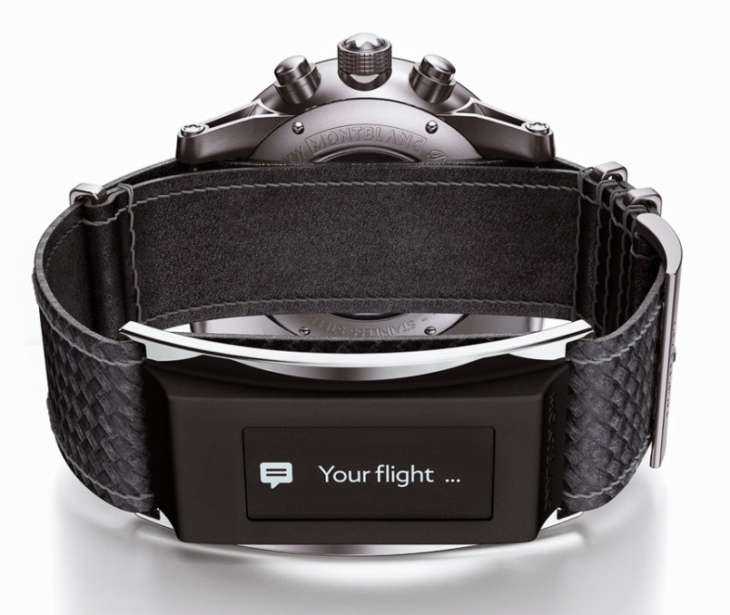 This Montblanc band can turn your Swiss watch into a smartwatch - 新闻图片