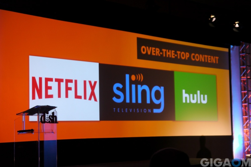 Sling TV bills itself as complementary to Netflix and Hulu.