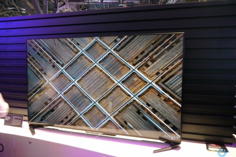 Taking cues from Chromecast, Sharp turns TVs into art displays