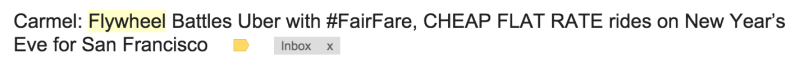 flywheel email to me