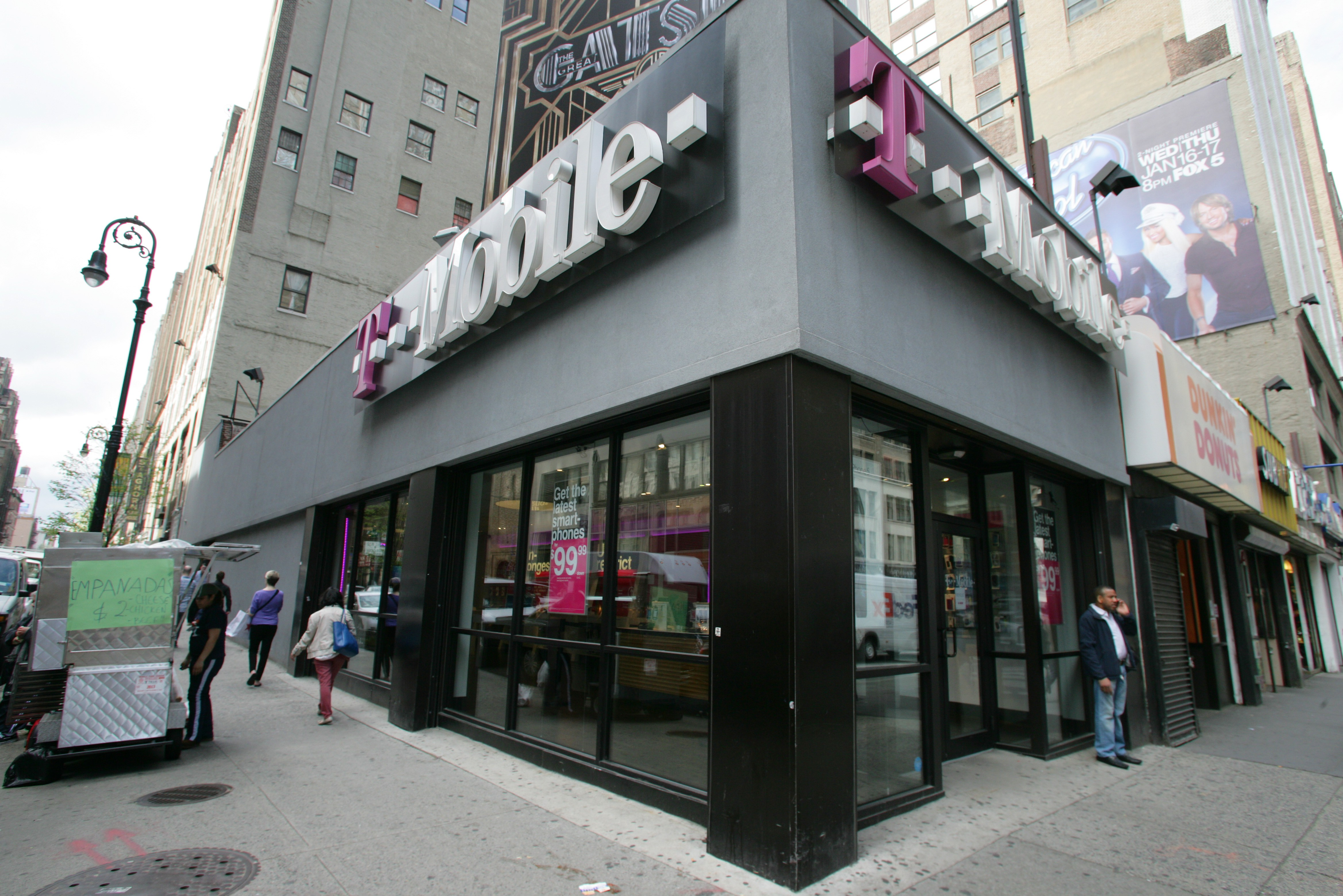 T-Mobile store generic NYC