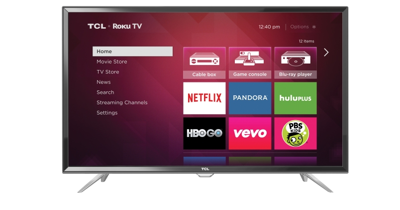 Spring TCL Roku TV_front