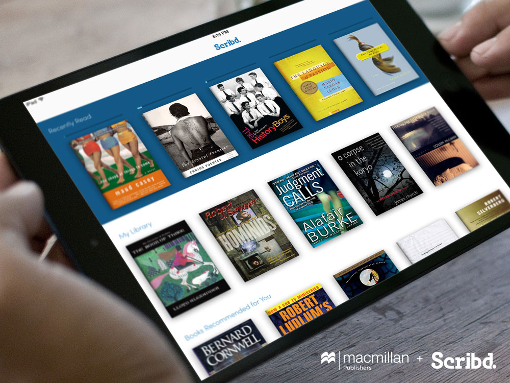 Scribd Macmillan partnership