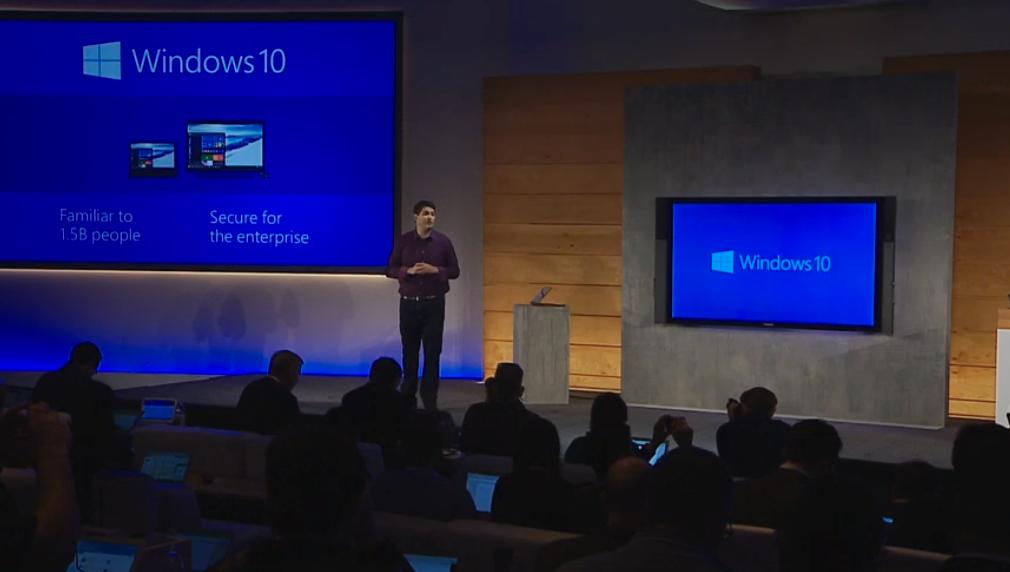 Terry Myerson Windows 10