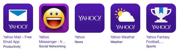 Yahoo Apps 2014